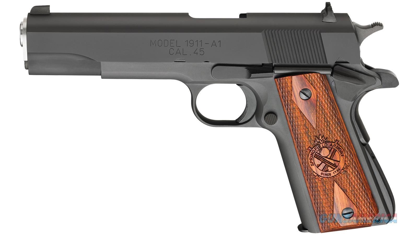 Springfield Armory 1911 Mil Spec 45Acp Parkerized PB9108LCA  Guns > Pistols > S Misc Pistols