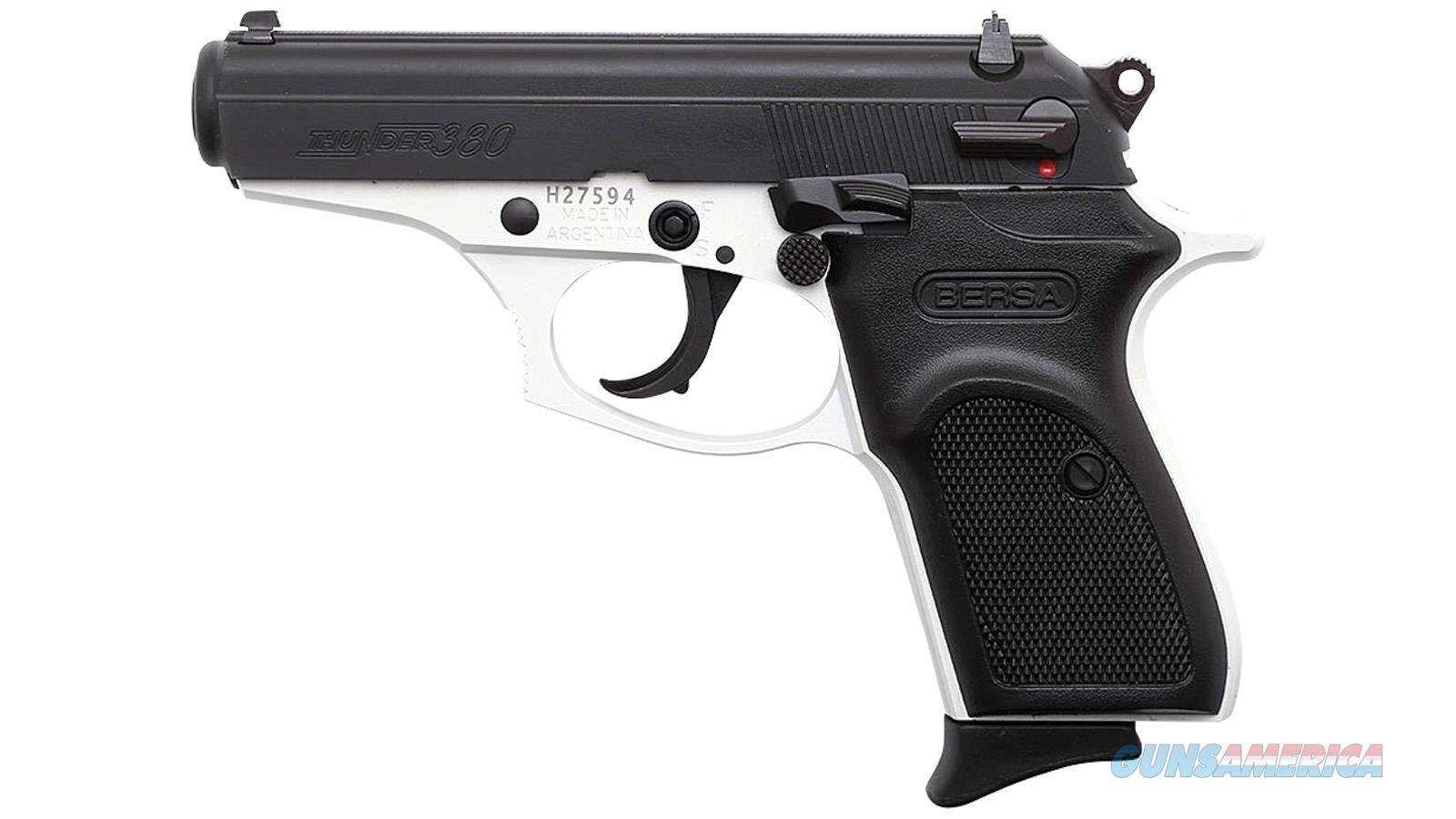 Bersa Thunder 380 380Acp White Cerakote Matte 8Rd T380WHT8  Guns > Pistols > Bersa Pistols