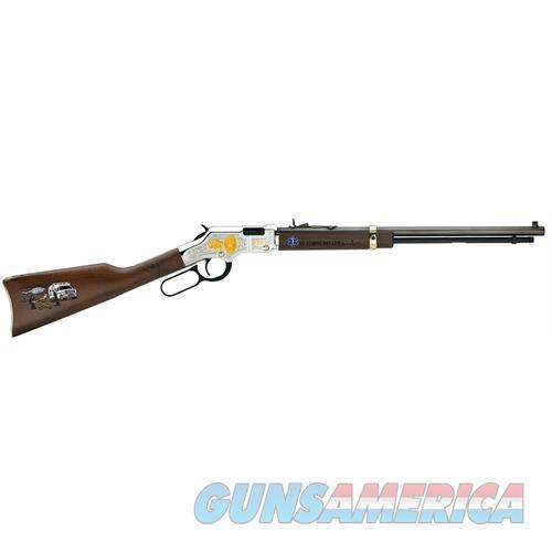 "Henry H004ems Golden Boy Ems Tribute Edition Lever 22 Short/Long/Long Rifle 20"" 16 Lr/21 Short American Walnut Stk Blued Barrel/Nickel Receiver H004EMS  Guns > Rifles > H Misc Rifles"