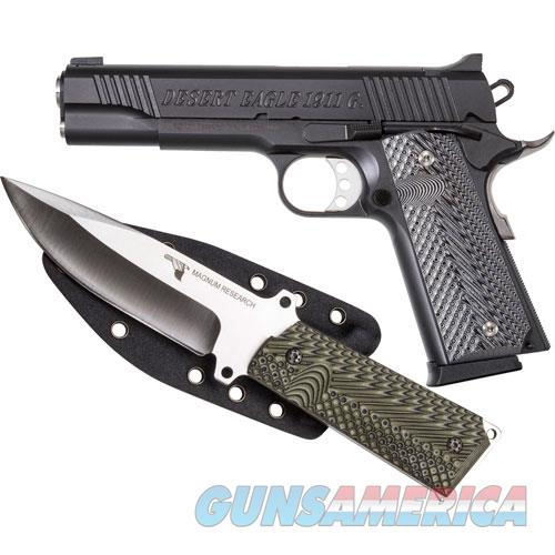 "Magnum Research Eagle 1911 Government .45Acp 5"" Fs Matte W/Knife DE1911G-K  Guns > Pistols > Magnum Research Pistols"