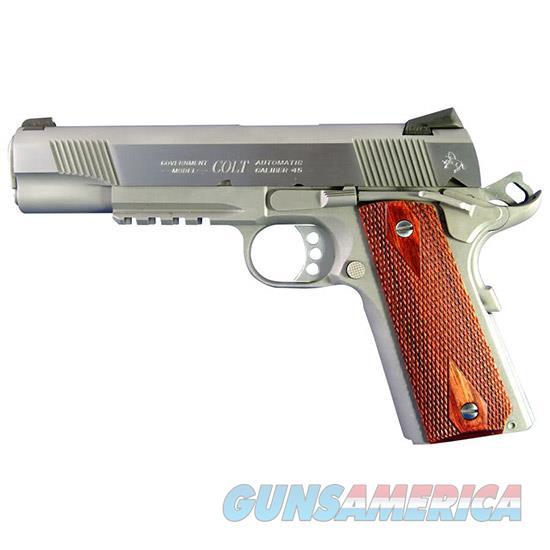 Colt Rail Gun 45Acp 5 Ss O1070RG  Guns > Pistols > C Misc Pistols
