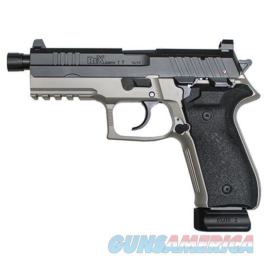 Fime Rex Zero 1T 9Mm Pistol Fs 2-20Rd Mags Grey Polymer REXZERO1T13  Guns > Pistols > F Misc Pistols