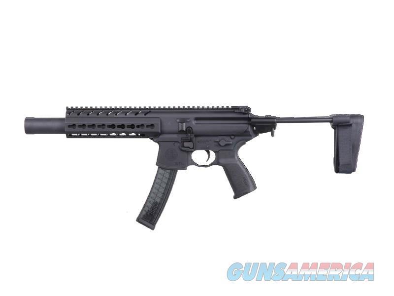Sig Sauer Mpx 9Mm 4.5 Blk 3Pos Brace 30Rd MPXK9KMTACOPSPSB  Guns > Rifles > S Misc Rifles