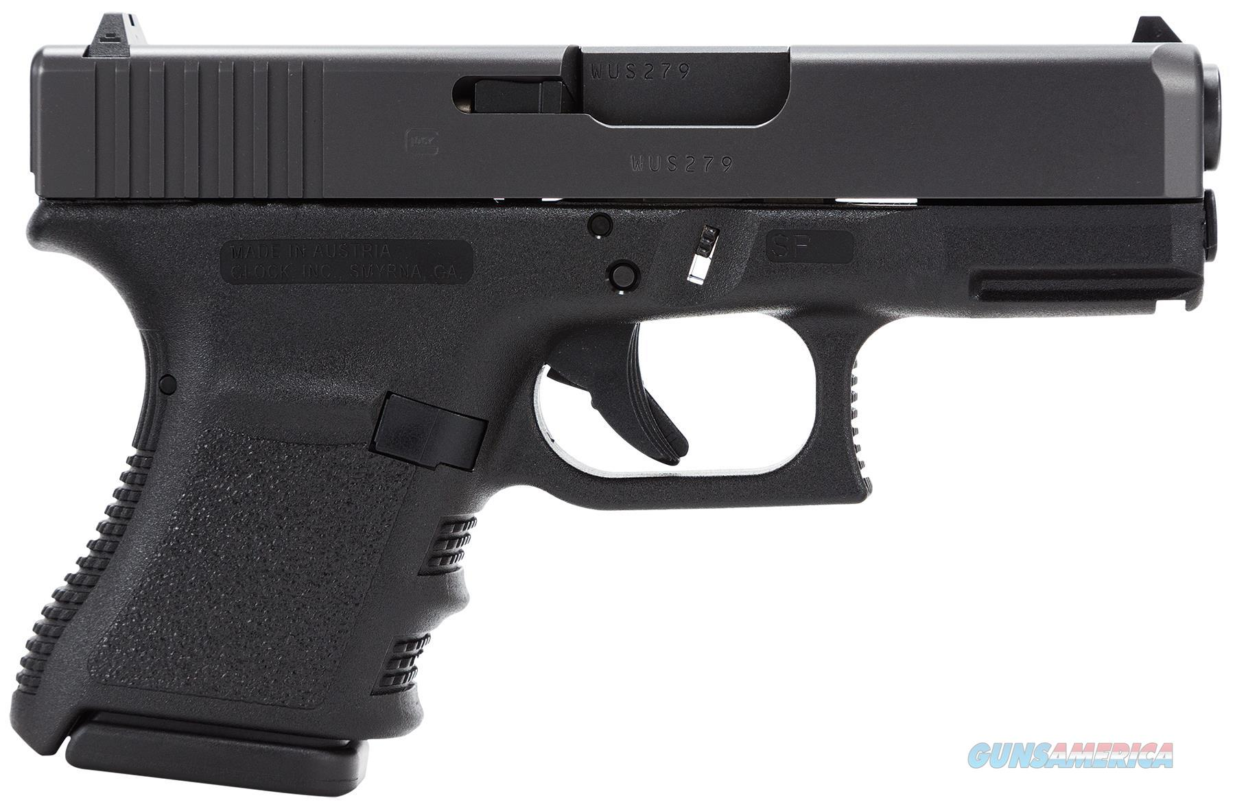 "Glock Pf2950201 G29sf Standard 10Mm 3.78"" 10+1 Fixed Sights Poly Grip/Frame Blk PF2950201  Guns > Pistols > G Misc Pistols"