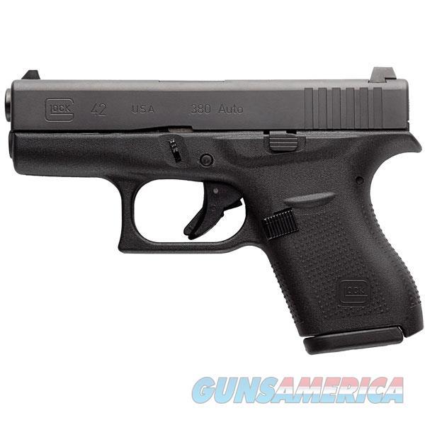"""Glock G42 380Acp Gen4 3.25"""" 6Rd UI4250201  Guns > Pistols > G Misc Pistols"""