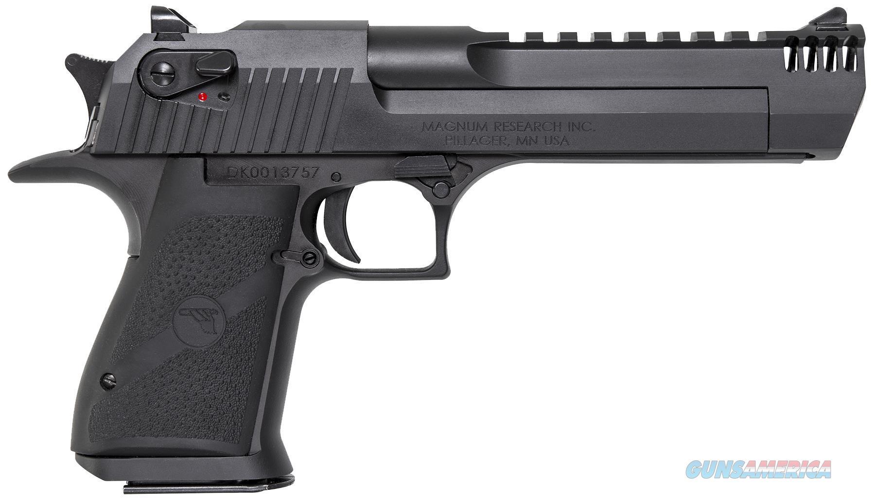 """Magnum Research De357imb Desert Eagle Mark Xix  Sao 357 Magnum 6"""" Mb 9+1 Black DE357IMB  Guns > Pistols > MN Misc Pistols"""