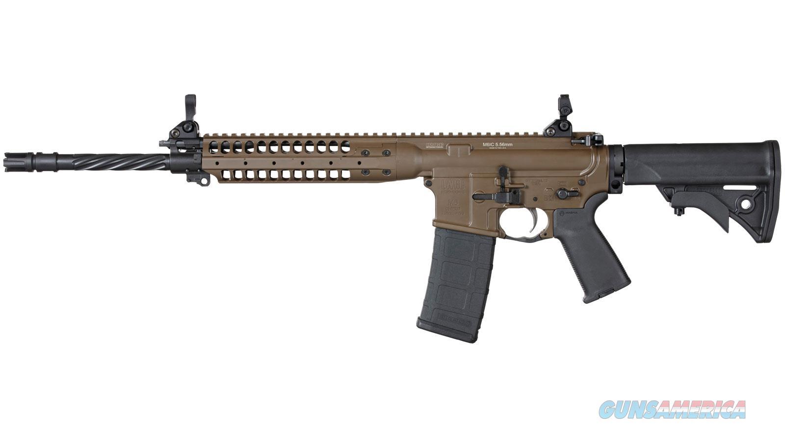 "Lwrc International Llc Ic Enhanced 5.56 16"" Fde ICER5CK16  Guns > Rifles > L Misc Rifles"