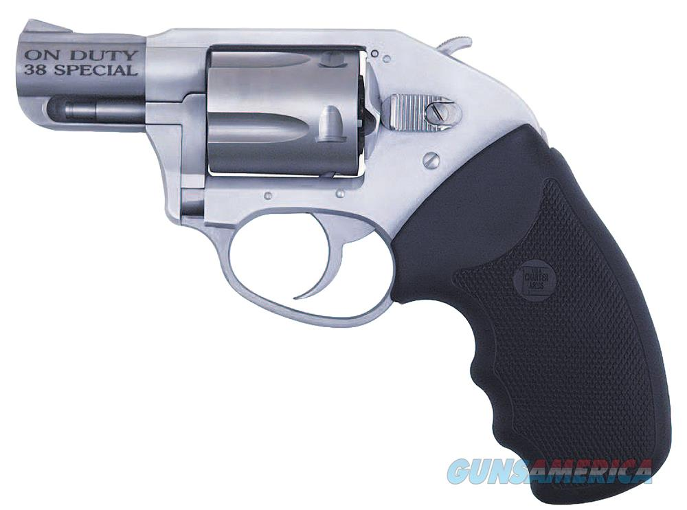 "Charter Arms 53810 Undercover On Duty  Revolver Single/Double 38 Special 2"" 5 Rd Black Rubber Grip Stainless 53810  Guns > Pistols > C Misc Pistols"