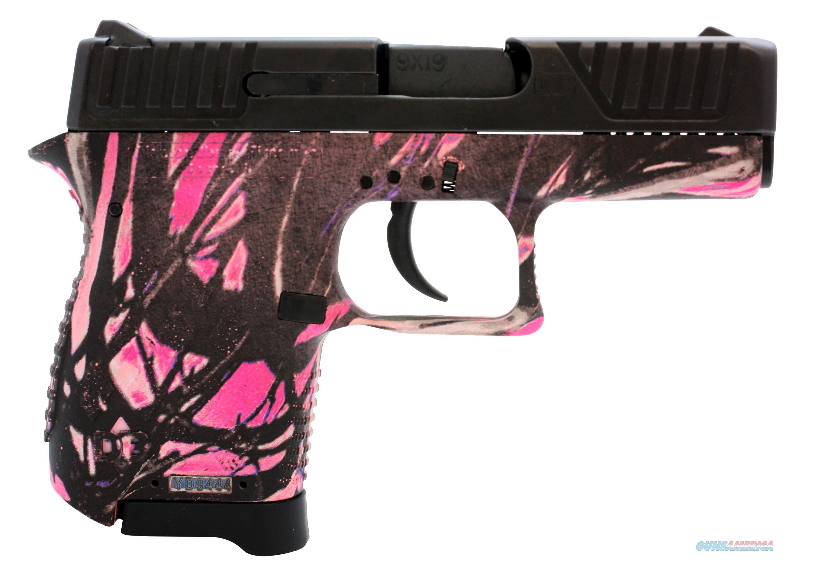 "Diamondback Db380mg Db380 Micro-Compact Single/Double 380 Automatic Colt Pistol (Acp) 2.8"" 6+1 Muddy Girl Polymer Grip Black DB380MG  Guns > Pistols > D Misc Pistols"