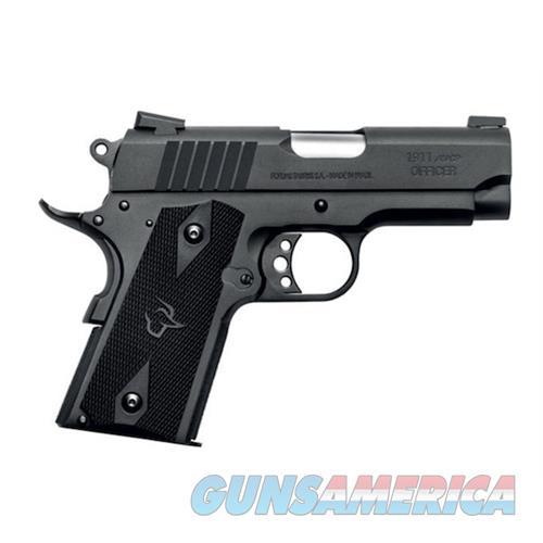 "Taurus 1911 Officer 45Acp Blk 3.5"" 1-191101OFC  Guns > Pistols > TU Misc Pistols"