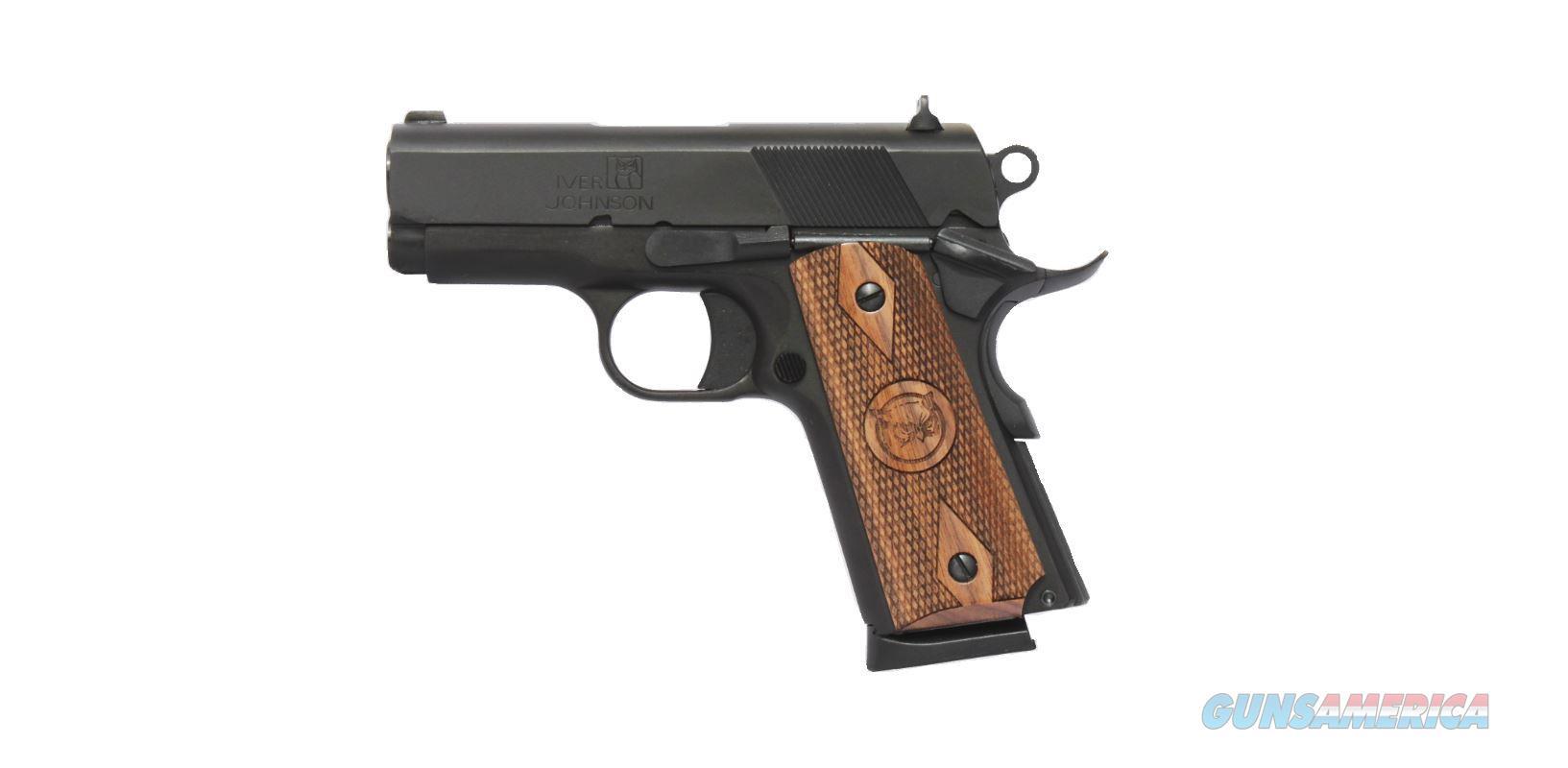 "Iver Johnson Johnson 1911 Thrasher .45Acp 3.12"" Fs 7-Shot M.Blued GIJ13  Guns > Pistols > IJ Misc Pistols"