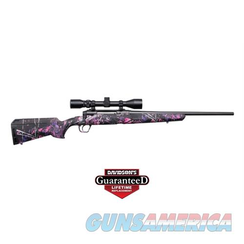 "Savage Arms Axis Xp Youth .243 20"" 3-9X40 Matte/Muddy Girl Ergo 57272  Guns > Rifles > S Misc Rifles"