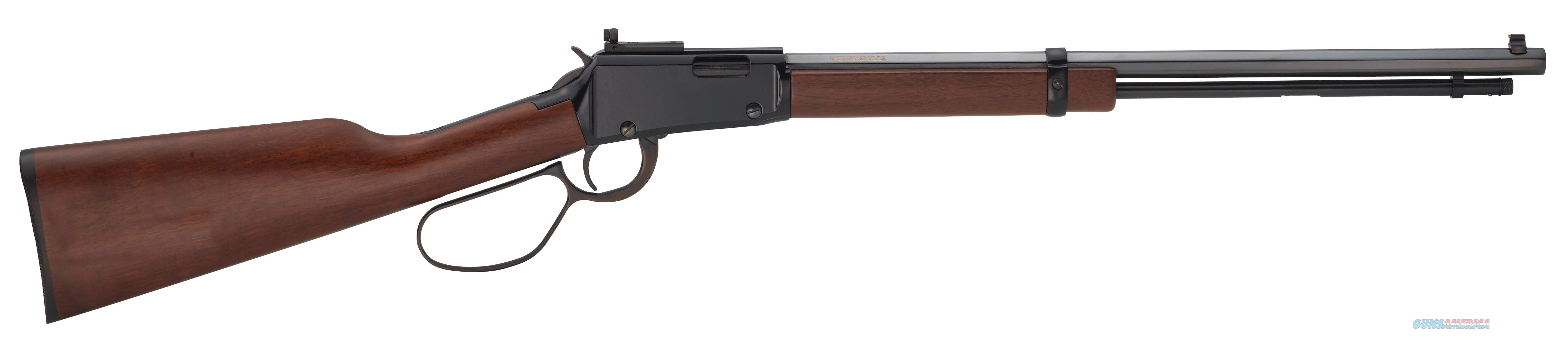 "Henry H001trp Small Game Rifle 22 S/L/Lr Lever 22 Long Rifle 20"" 16+1 Walnut Stk Blued H001TRP  Guns > Rifles > H Misc Rifles"
