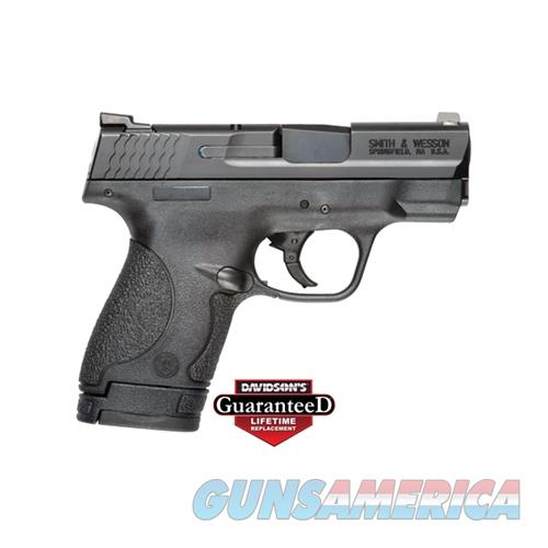 "Smith & Wesson 10086 M&P 9 Shield Double 9Mm Luger 3.1"" 7+1/8+1 Black Polymer Grip Black Stainless Steel 10086  Guns > Pistols > S Misc Pistols"