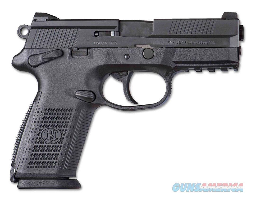 FN MANUFACTURING FNX-9 9MM 4 DA SA MS BLK 10RD 66836  Guns > Pistols > FNH - Fabrique Nationale (FN) Pistols