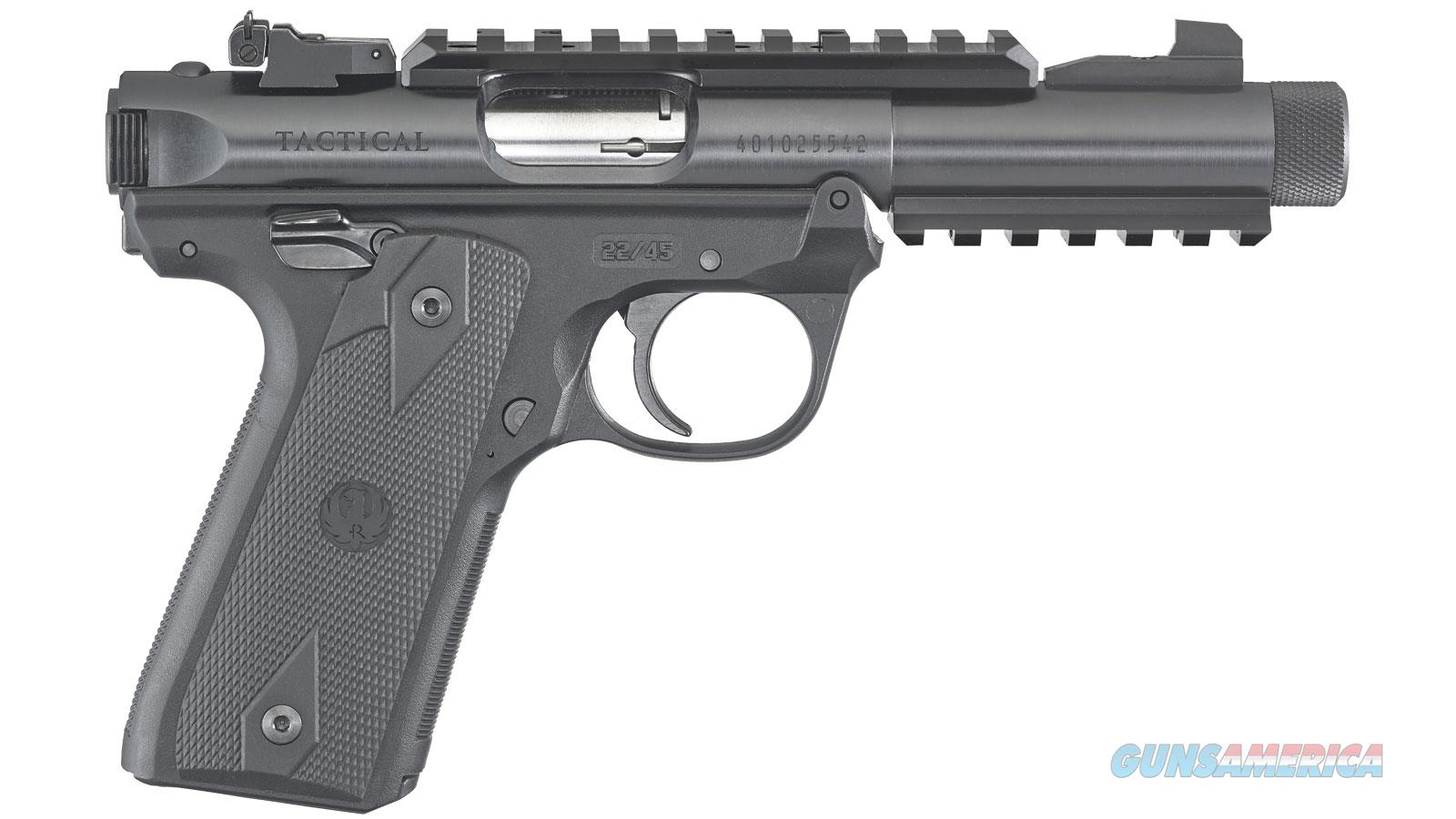 Ruger Mark Iv 22/45 Tact 22Lr 40149  Guns > Pistols > R Misc Pistols