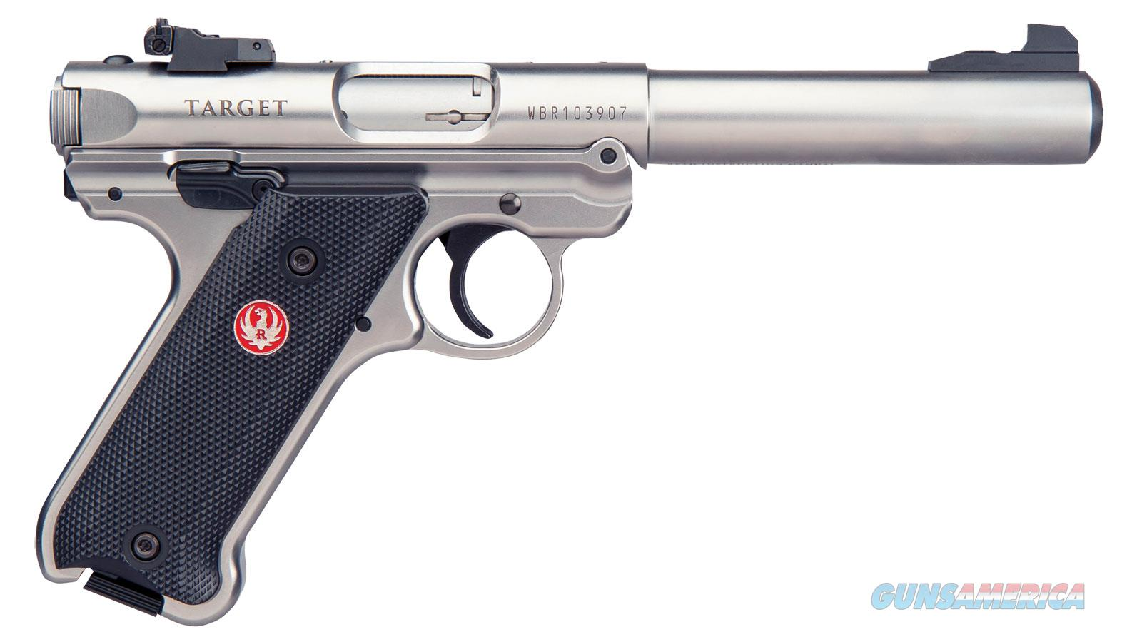 """Ruger Mark Iv Tgt 22Lr 5.5"""" 10Rd 40103  Guns > Pistols > R Misc Pistols"""