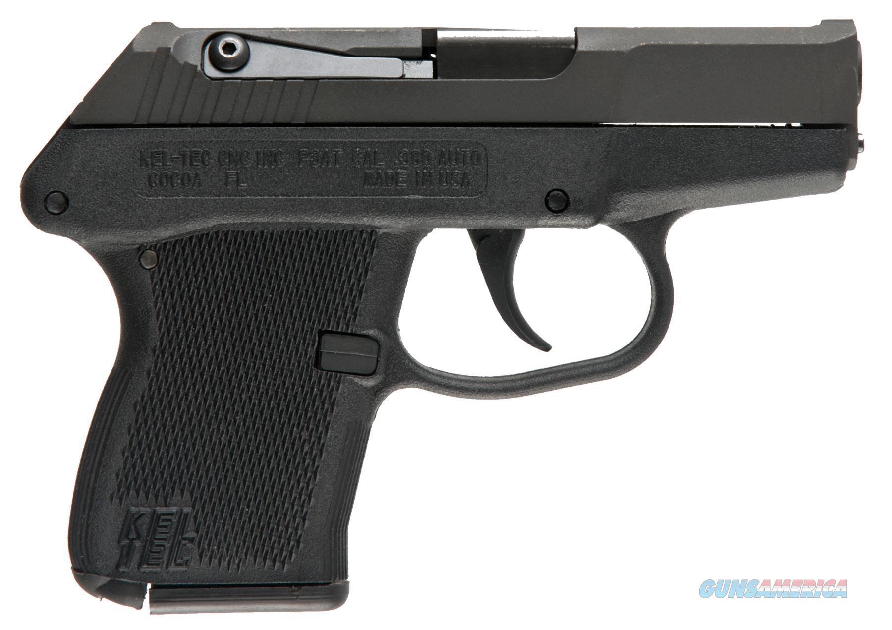 """Kel-Tec P3atpkblk P-3At 380 Acp Double 380 Automatic Colt Pistol (Acp) 2.7"""" 6+1 Black Polymer Grip Black Parkerized P3ATPKBLK  Guns > Pistols > K Misc Pistols"""