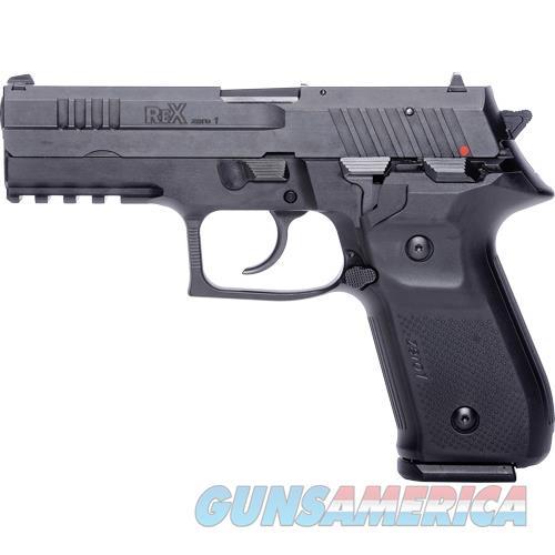 Fime Rex Zero 1S 9Mm 4.3 Blk Rail Fs 2 17Rd REXZERO1S01  Guns > Pistols > F Misc Pistols