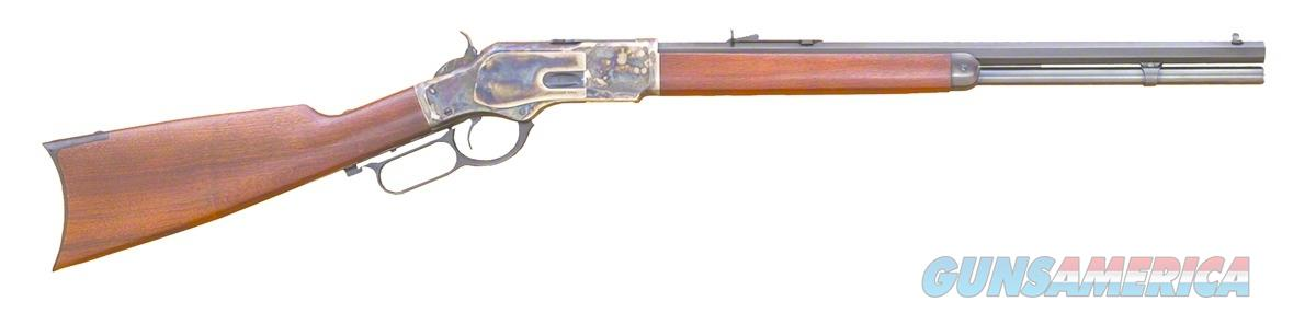 CIMARRON FIREARMS 1873 LEVER ACTION RIFLE 44 WCF, RH, 20 IN, BLUE, WOOD STK, 10+1 RND CA241  Guns > Rifles > C Misc Rifles