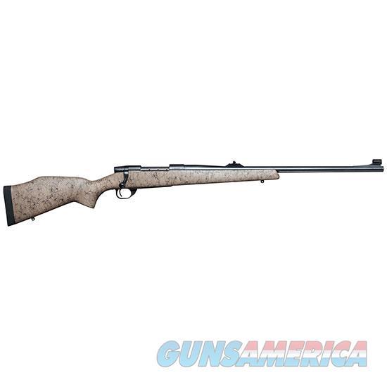 Weatherby Vanguard 375Hh 24 Tan Blk Web W/ Sights VGR375HR4OS  Guns > Rifles > W Misc Rifles