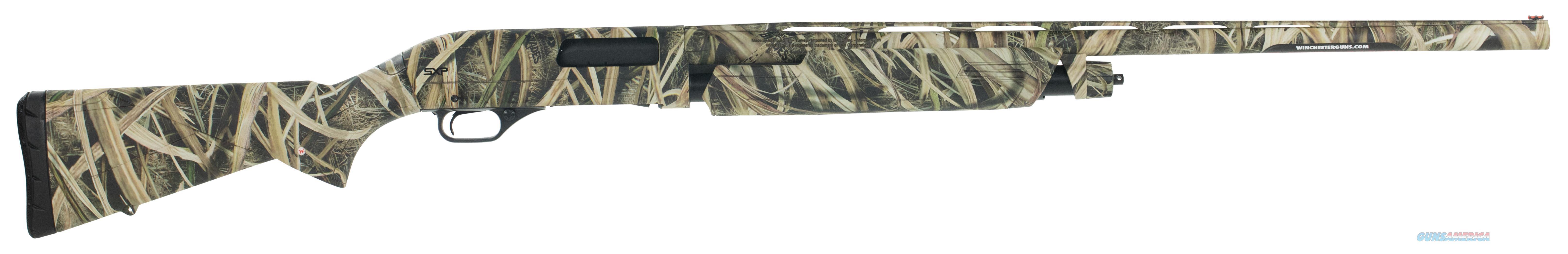"""Winchester Guns 512270292 Sxp Waterfowl Pump 12 Gauge 28"""" 4+1 3.5"""" Mossy Oak Shadow Grass Blades Synthetic Stk Rcvr 512270292  Guns > Shotguns > W Misc Shotguns"""