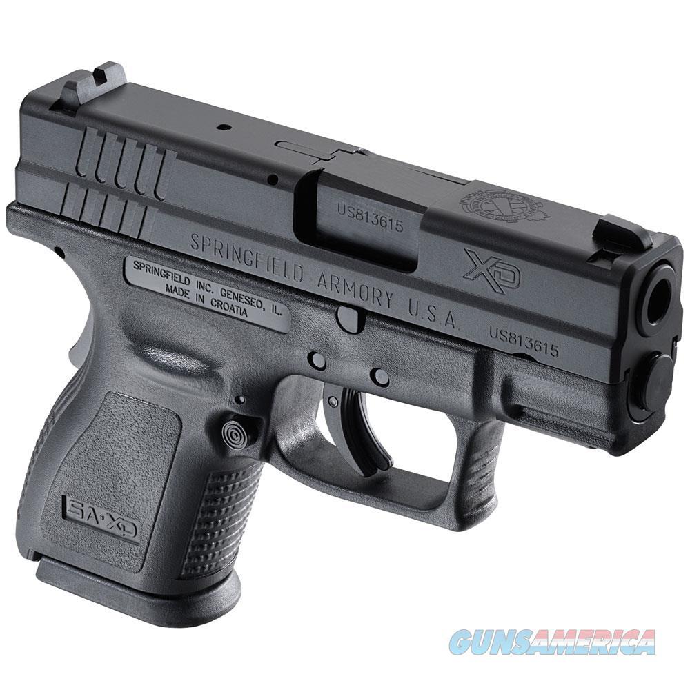"Springfield Armory Xd Essential Pkg 9Mm 3"" Blk XD9801HC  Guns > Pistols > S Misc Pistols"