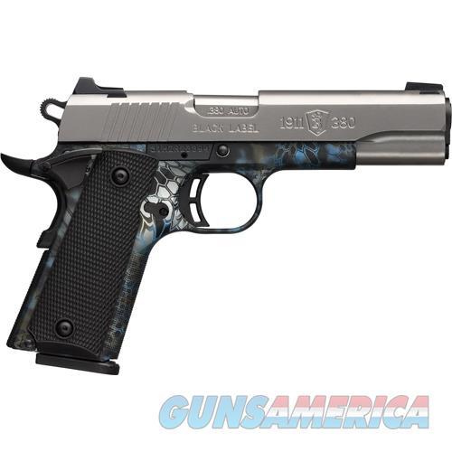 "Browning Black Label Pro 1911-.380 .380Acp Fs 4.25"" S/S-Neptune 051942492  Guns > Pistols > B Misc Pistols"