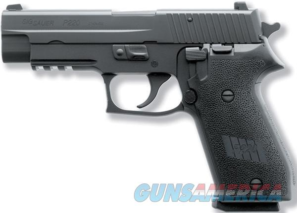 SIG SAUER P220R 45ACP 8RD BLK N/S 220R-45-BSS  Guns > Pistols > Sig - Sauer/Sigarms Pistols > P220