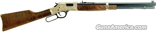 Henry Big Boy Deluxe II 44Mag Hand Engraved - 1 of 1000  Guns > Rifles > Henry Rifles - Replica