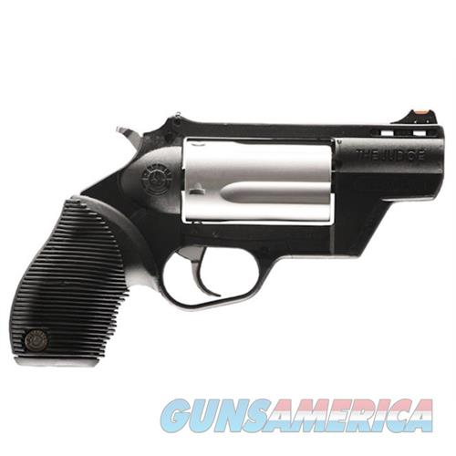"Taurus 2441029Tcply Judge Tracker Public Defender 410/45Lc 2.5"" 5Rd Poly Grip Ss 2-441029TCPLY  Guns > Pistols > TU Misc Pistols"