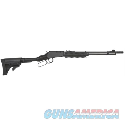 "Mossberg 43027 464 Spx Lever 22 Long Rifle 18"" 13+1 6-Position Black Stk Black 43027  Guns > Rifles > MN Misc Rifles"
