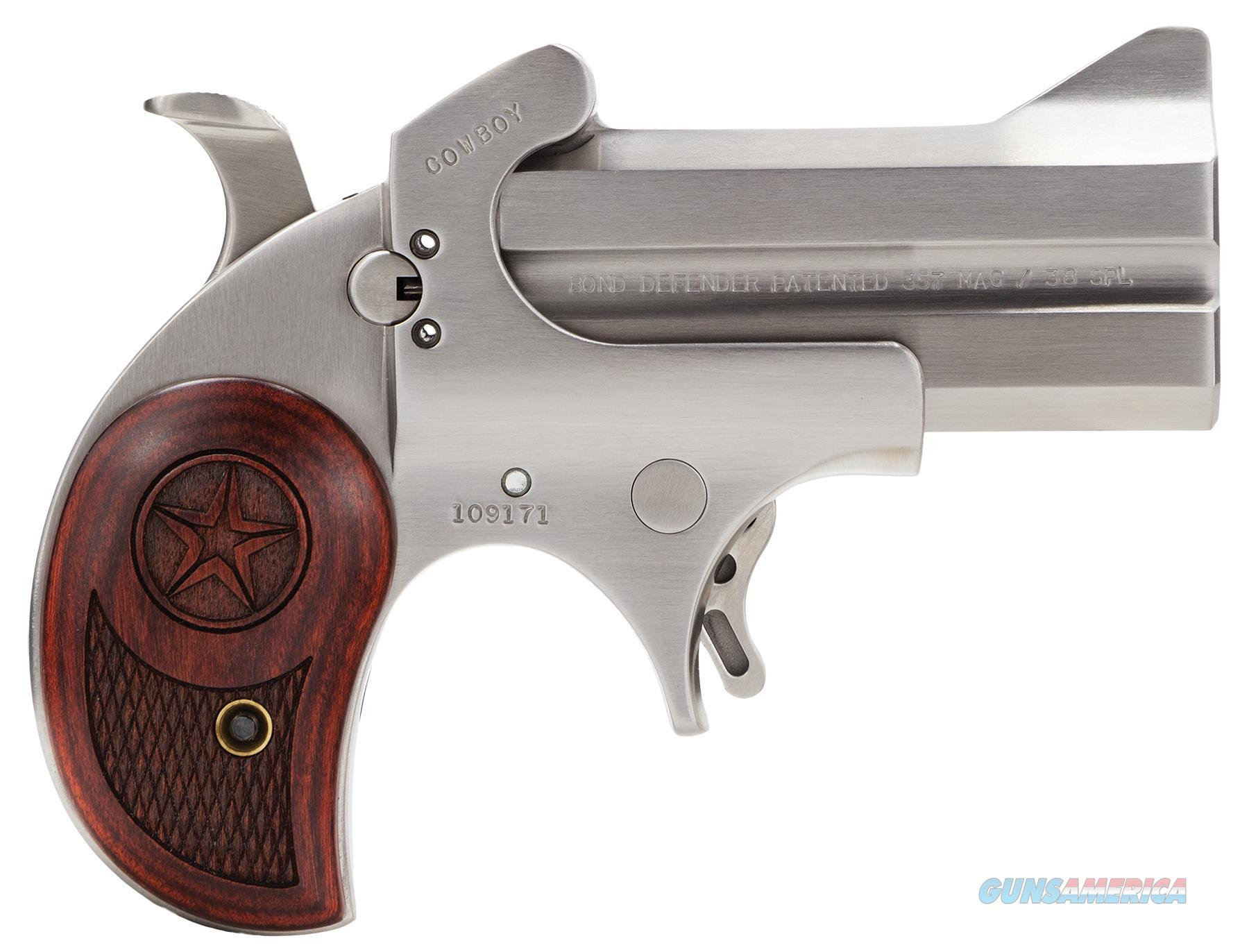 BOND ARMS COWBOY DEFENDER .357/38SP BACD357MAG  Guns > Pistols > Bond Derringers