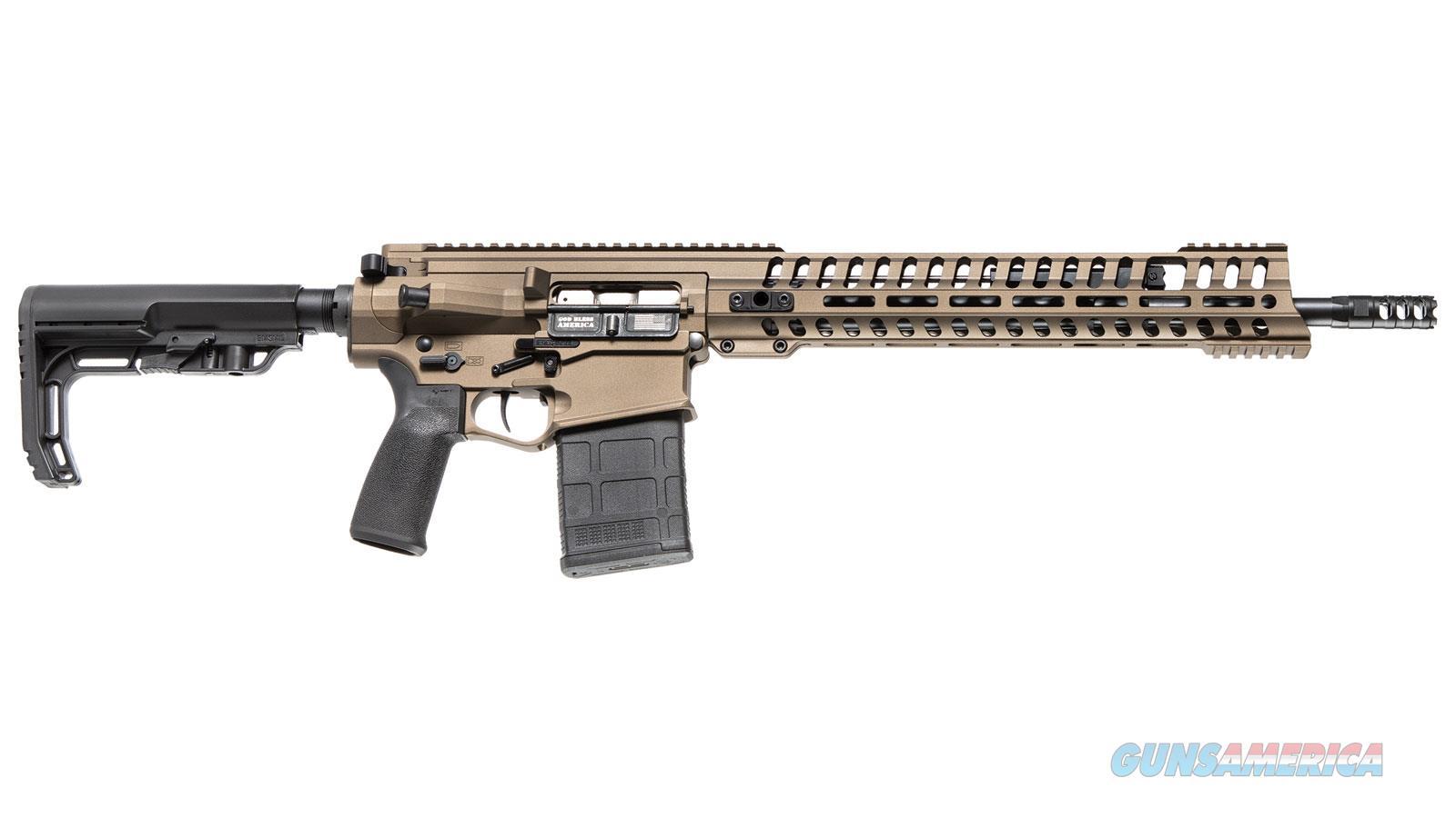 Patriot Ordnance Factory G4 P308 308Win 16.5 Mlok Mrr Rail Brnt Brnz 01210  Guns > Rifles > PQ Misc Rifles