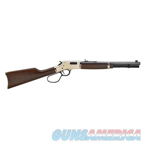 "Henry H006r Big Boy Carbine  Lever 44 Remington Magnum 16.5"" 7+1 American Walnut Stk Brass Receiver/Blued Barrel H006R  Guns > Rifles > H Misc Rifles"