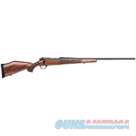 Weatherby 257Wby Mkv 26 Lazermrk Gloss Aa Walnt MLMM257WR6O  Guns > Rifles > W Misc Rifles