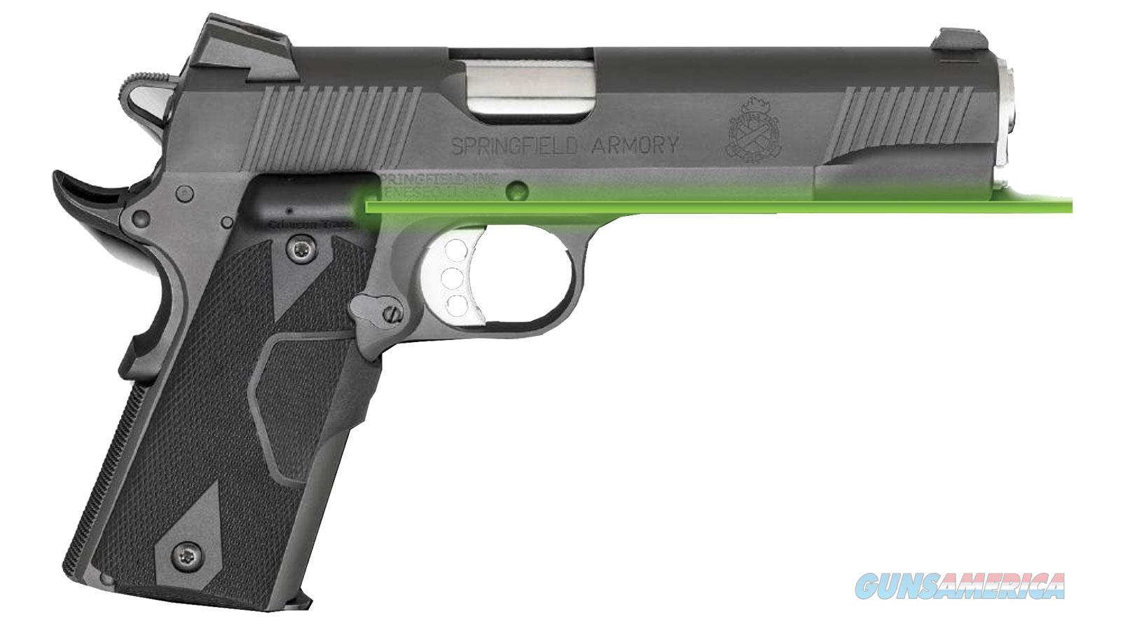 Springfield Armory 1911 45Acp 5 W/ Ctc Lasergrips Parkerized PI9109LPCT  Guns > Pistols > S Misc Pistols