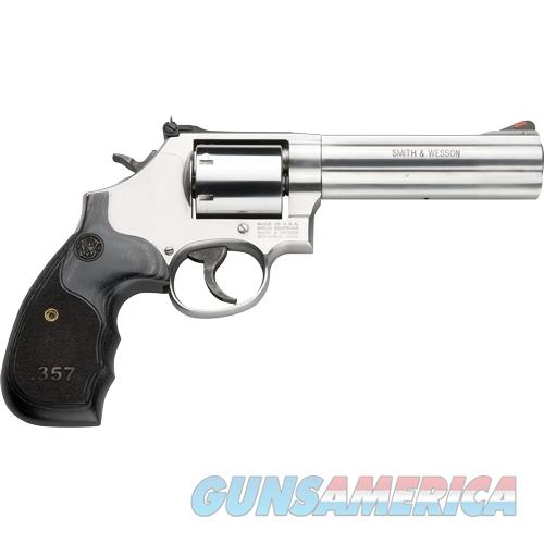 "Smith & Wesson 686 3-5-7 .357 5"" As 7-Sh Ss Unfluted Cylinder Wood 150854  Guns > Pistols > S Misc Pistols"