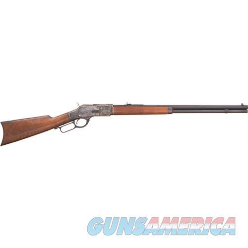 "Cimarron Firearms 1873 Sporting .38Sp 24"" Octagon Cc/Blued Walnut CA272  Guns > Rifles > C Misc Rifles"
