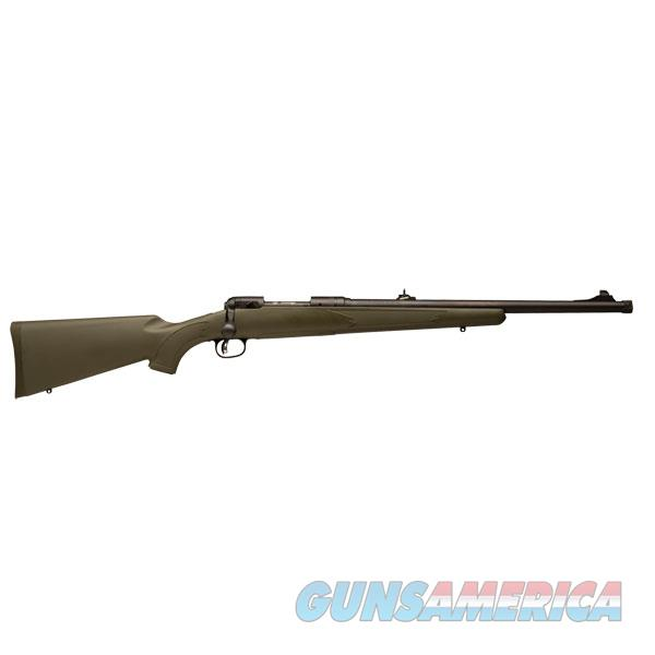 "Savage 19662 11/111 Hog Hunter Bolt 308 Win/7.62 Nato 20"" 4+1 Synthetic Green Stk Black 19662  Guns > Rifles > S Misc Rifles"
