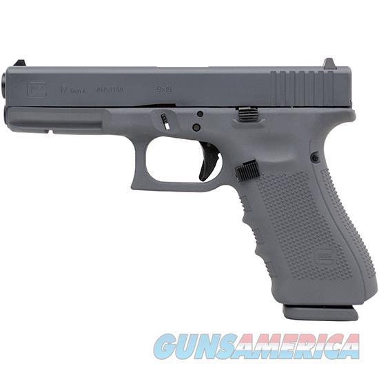 Glock 17 Gen4 9Mm 4.49 Gray Cerakote PG1750203GG  Guns > Pistols > G Misc Pistols