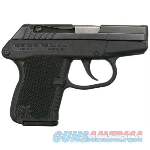 P-32 32Acp 7+1 Bl/Black Poly P32BBLK  Guns > Pistols > K Misc Pistols