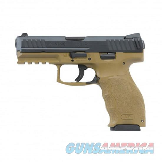 Heckler & Koch Vp40 40Sw 4.09 Fde Ns 3 10Rd 700040FDELELA5  Guns > Pistols > H Misc Pistols
