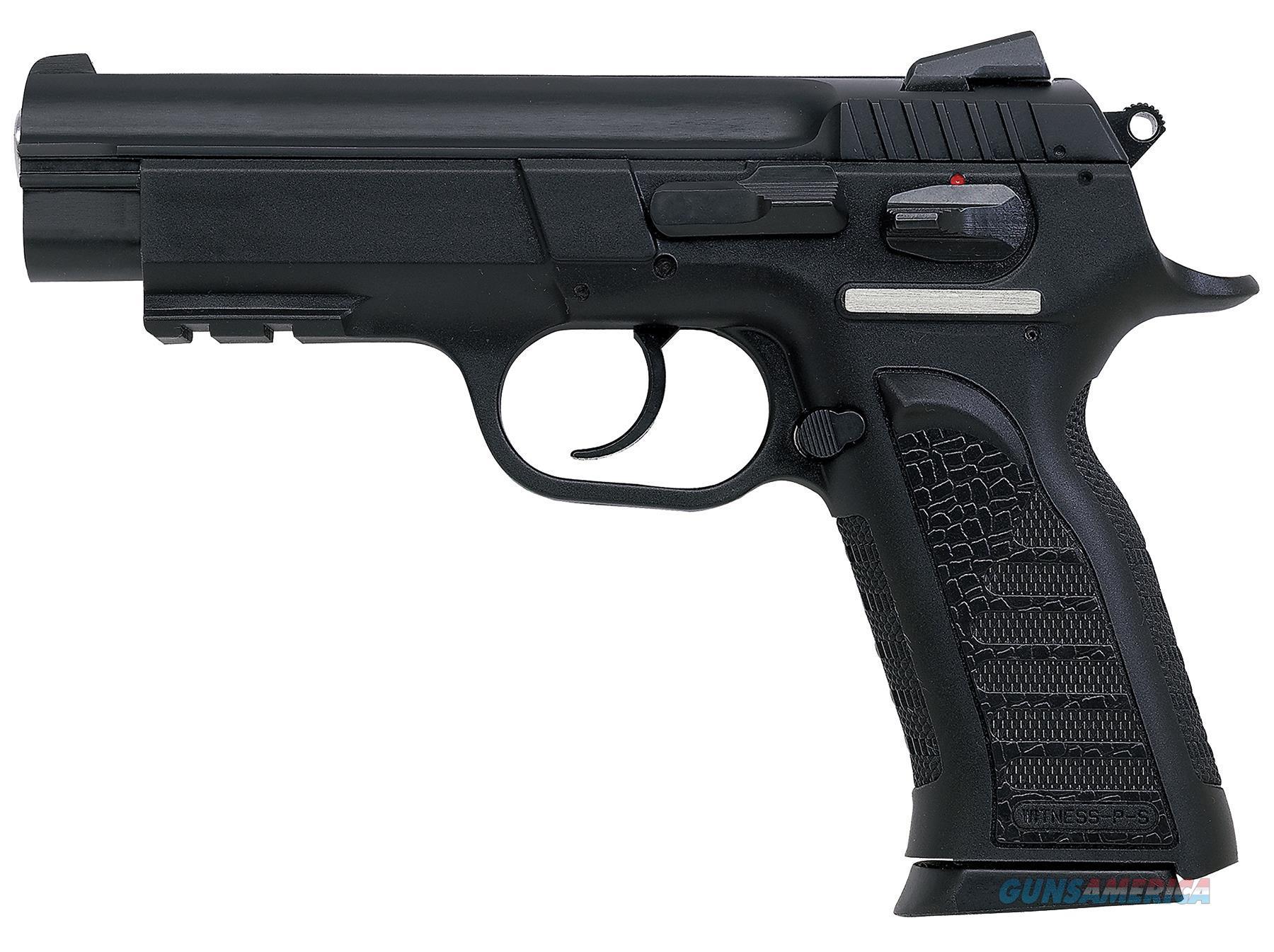 """Eaa 999104 Witness Polymer Full Size 9Mm 4.5"""" 17+1 Poly Grip/Frame Blk 999104  Guns > Pistols > E Misc Pistols"""