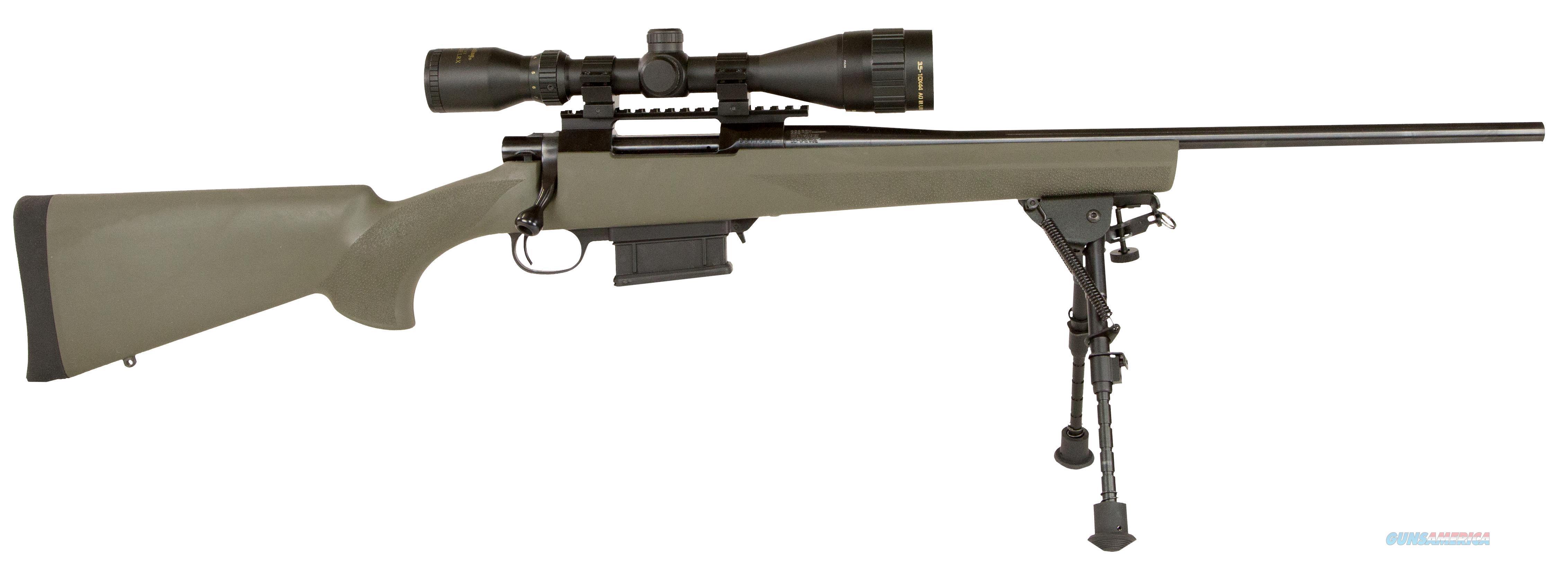 """Howa Hgk36107bp Hogue Gameking Scope Package Bolt 223 Remington 20"""" 10+1 Hogue Overmolded Green Stk Blued HGK36107BP  Guns > Rifles > H Misc Rifles"""