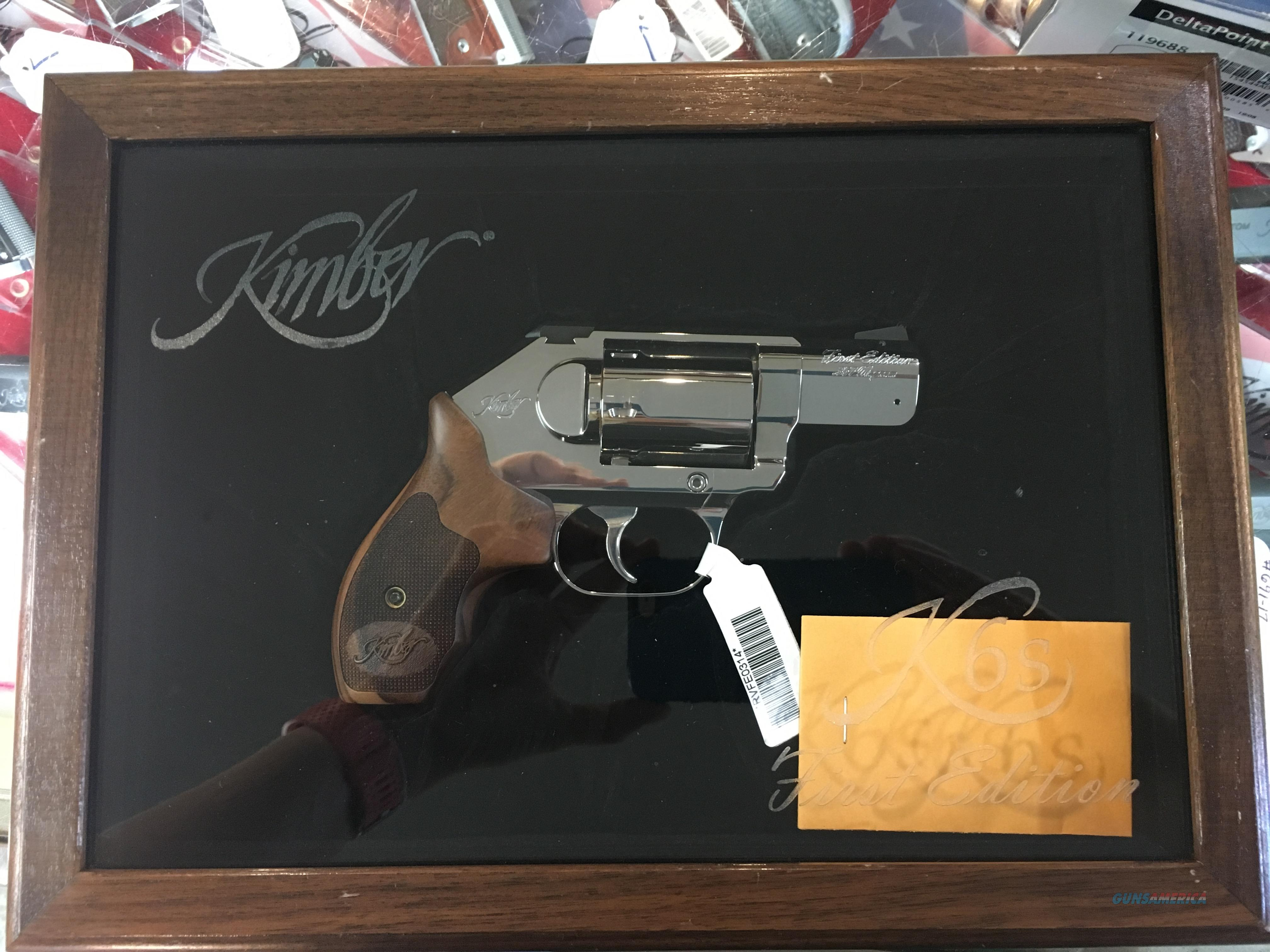 NIB KIMBER K6S FIRST EDITION, .357 MAG, WITH DISPLAY CASE  Guns > Pistols > Kimber of America Pistols > Revolvers