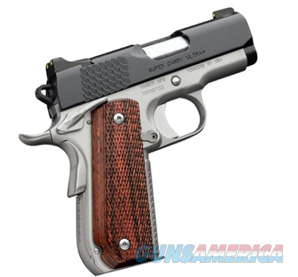 KIMBER 45ACP SUPER CARRY ULTRA+ KIM3000268  Guns > Pistols > K Misc Pistols
