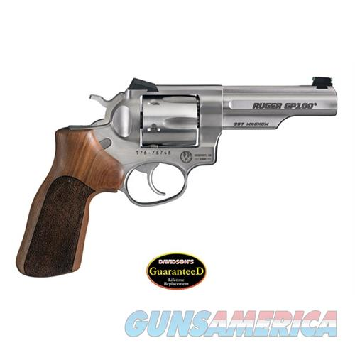 Ruger Gp100-Mc 357 Da Rev 4Ss Fs 1754  Guns > Pistols > R Misc Pistols