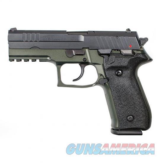 Fime Rex Zero 1S 9Mm Odg Rail Fs 2 17Rd REXZERO1S07  Guns > Pistols > F Misc Pistols