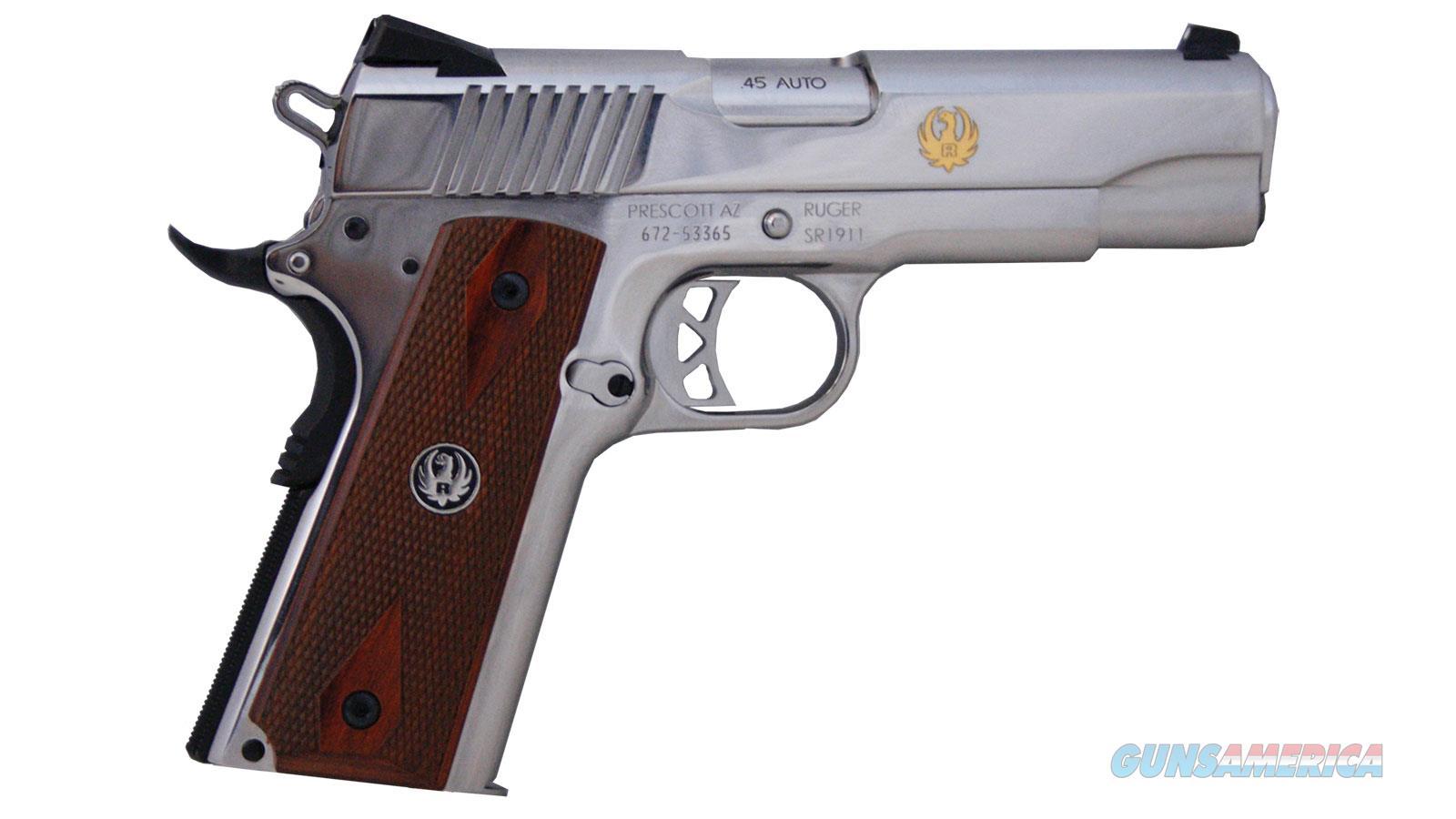 """Ruger Sr1911 Custom 45Acp 4.25"""" 6702CS  Guns > Pistols > R Misc Pistols"""